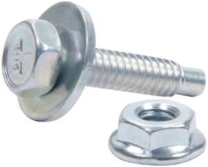 ALLSTAR PERFORMANCE #ALL18655 Body Bolt Kit 10pk Silver 1-1/8in
