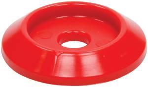 ALLSTAR PERFORMANCE #ALL18847 Body Bolt Washer Plastic Red 10pk