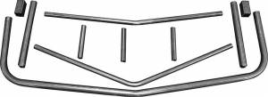 ALLSTAR PERFORMANCE #ALL22370 Unwelded Front Bumper M/C SS 1983-88