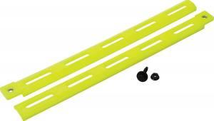 ALLSTAR PERFORMANCE #ALL23098-4 Plastic Body Brace Fluorescent Yellow 4pk
