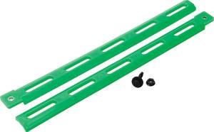 ALLSTAR PERFORMANCE #ALL23099-4 Plastic Body Brace Fluorescent Green 4pk