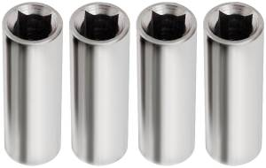 ALLSTAR PERFORMANCE #ALL26320 Valve Cover Hold Down Nuts 1/4in-20 Thread 4pk