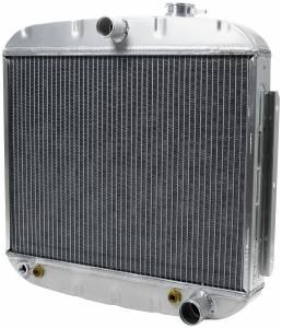 ALLSTAR PERFORMANCE #ALL30006 Radiator 1955-57 Chevy 8 Cyl w/ Trans Cooler