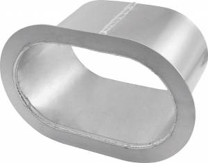ALLSTAR PERFORMANCE #ALL34183 Exhaust Shield Oval Dual Straight Exit