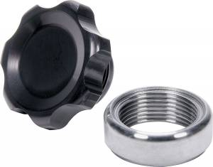 ALLSTAR PERFORMANCE #ALL36167 Filler Cap Black with Weld-In Steel Bung Small