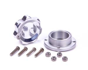 ALLSTAR PERFORMANCE #ALL36183 Filler Cap Polished with Bolt-In Alum Bung Small