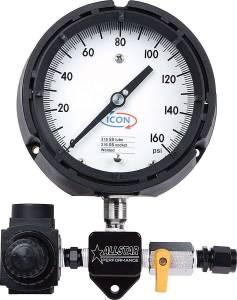 ALLSTAR PERFORMANCE #ALL40330 Sprint Fuel Press Gauge High Speed Set Up
