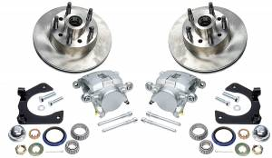 ALLSTAR PERFORMANCE #ALL42030 Disc Brake Kit Mustang II 5 on 5.0in BC