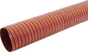 ALLSTAR PERFORMANCE #ALL42152 Brake Duct Hose 3 x 10ft Orange 550 Deg