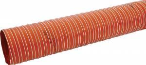 ALLSTAR PERFORMANCE #ALL42155 Brake Duct Hose 4 x 10ft Orange 550 Deg