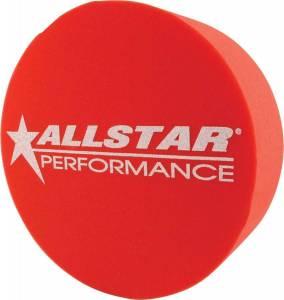 ALLSTAR PERFORMANCE #ALL44151 Foam Mud Plug Red 5in