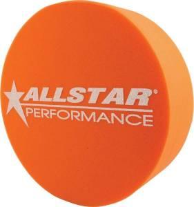 ALLSTAR PERFORMANCE #ALL44153 Foam Mud Plug Orange 5in