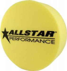 ALLSTAR PERFORMANCE #ALL44154 Foam Mud Plug Yellow 5in