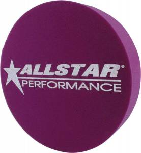 ALLSTAR PERFORMANCE #ALL44195 Foam Mud Plug Purple 3in