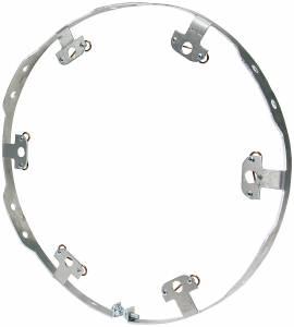 ALLSTAR PERFORMANCE #ALL44249 Wheel Ring Flat Style Alum 6 Fastener Q-Turn