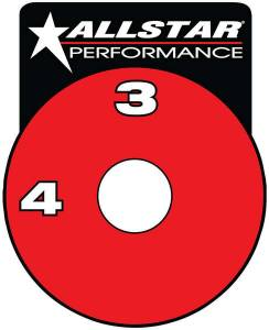 ALLSTAR PERFORMANCE #ALL48011 RF Brake Shut-Off Valve Decal
