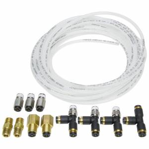 ALLSTAR PERFORMANCE #ALL48019 Nylon Brake Line Kit for use w/ Gauges