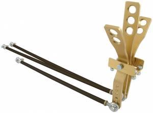 ALLSTAR PERFORMANCE #ALL54112 3 Lever Shifter Gold
