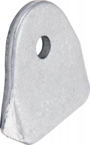 ALLSTAR PERFORMANCE #ALL60087-25 1/8in Body Brace Tabs 1/4in Hole 25pk