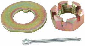 ALLSTAR PERFORMANCE #ALL72160 Spindle Lock Nut Kit GM Metric 3/4in-20