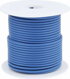 ALLSTAR PERFORMANCE #ALL76516 20 AWG Blue Primary Wire 100ft