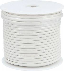 ALLSTAR PERFORMANCE #ALL76577 10 AWG White Primary Wire 75ft
