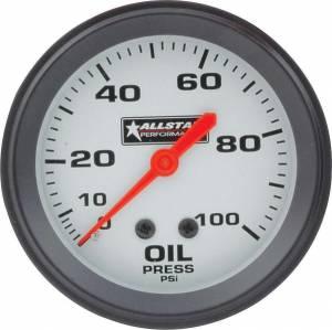 ALLSTAR PERFORMANCE #ALL80095 ALL Oil Pressure Gauge 0-100PSI 2-5/8in