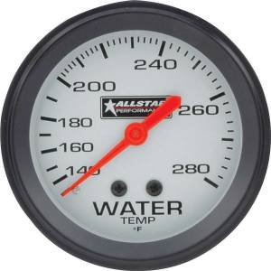 ALLSTAR PERFORMANCE #ALL80096 ALL Water Temp Gauge 140-280F 2-5/8in