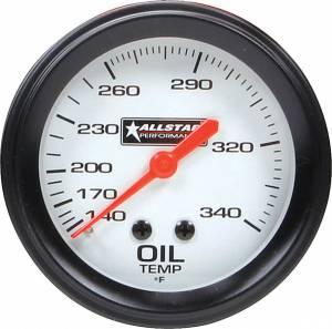 ALLSTAR PERFORMANCE #ALL80097 ALL Oil Temp Gauge 140-340F 2-5/8in