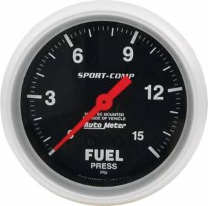 ALLSTAR PERFORMANCE #ALL80134 Repl ATM FP Gauge 15psi Sport Comp 2-5/8in