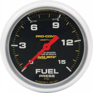 ALLSTAR PERFORMANCE #ALL80136 Repl ATM FP Gauge 15psi Pro Comp 2-5/8in