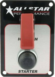 ALLSTAR PERFORMANCE #ALL80141 Switch Panel One Switch w/Flip Cover