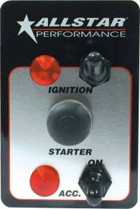 ALLSTAR PERFORMANCE #ALL80146 Switch Panel Two Switch w/Lights