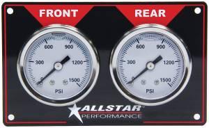 ALLSTAR PERFORMANCE #ALL80172 Brake Bias Gauge Panel Horizontal
