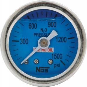 ALLSTAR PERFORMANCE #ALL80208 1.5 Gauge 0-1500PSI NOS Liquid Filled