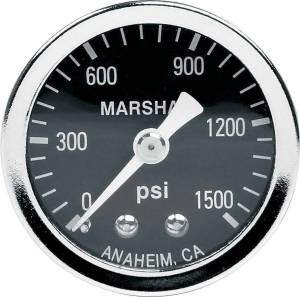 ALLSTAR PERFORMANCE #ALL80218 1.5in Gauge 0-1500PSI Dry Type