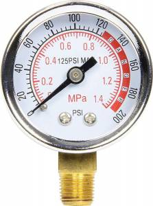 ALLSTAR PERFORMANCE #ALL99340 Repl Gauge for Air Tanks