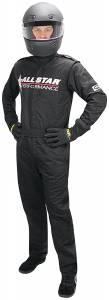 ALLSTAR PERFORMANCE #ALL99849 Allstar Race Suit Black XL Short 1pc 2 Layer