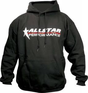 ALLSTAR PERFORMANCE #ALL99913XXL Allstar Hooded Sweatshirt XX-Large Blk