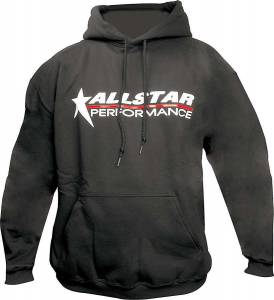 ALLSTAR PERFORMANCE #ALL99913XXXL Allstar Hooded Sweatshirt XXX-Lg Black