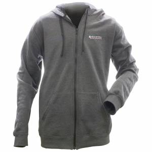 ALLSTAR PERFORMANCE #ALL99917XL Allstar Full Zip Hooded Sweatshirt Charcoal XL
