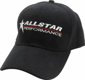ALLSTAR PERFORMANCE #ALL99951 Allstar Hat Black Velcro Closure