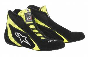 ALPINESTARS USA #2710618-155-7 SP Shoe Blk /Fluo Yellow Size 7* Special Deal Call 1-800-603-4359 For Best Price
