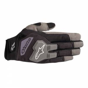 ALPINESTARS USA #3552519-106-XXL Glove Engine XX-Large Black / Gray