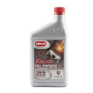 AMALIE #160-75716-56 Elixir Full Synthetic 5w50 Oil Case 12x1Qt