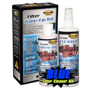 Air Filter Cleaning Kit Renew Kit Squeeze Blue