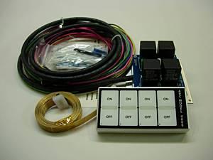 AUTO ROD CONTROLS #4000D In-Dash Control Module - 4 Switch