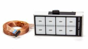 AUTO ROD CONTROLS #4000F8 Keypad - Firewall Mount Compatible w/Model 8000