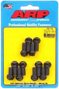 ARP #100-1103 Header Bolt Kit - 6pt. 3/8 x .750 UHL (12)