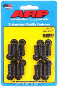 ARP #100-1210 Header Bolt Kit - 12pt. 3/8 x 1.00 UHL (16)